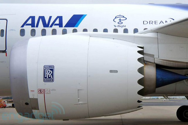 ANA Dreamliner takes its first Intercontinental flight
