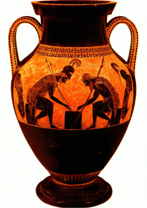 Greek 2,500-year-old pottery