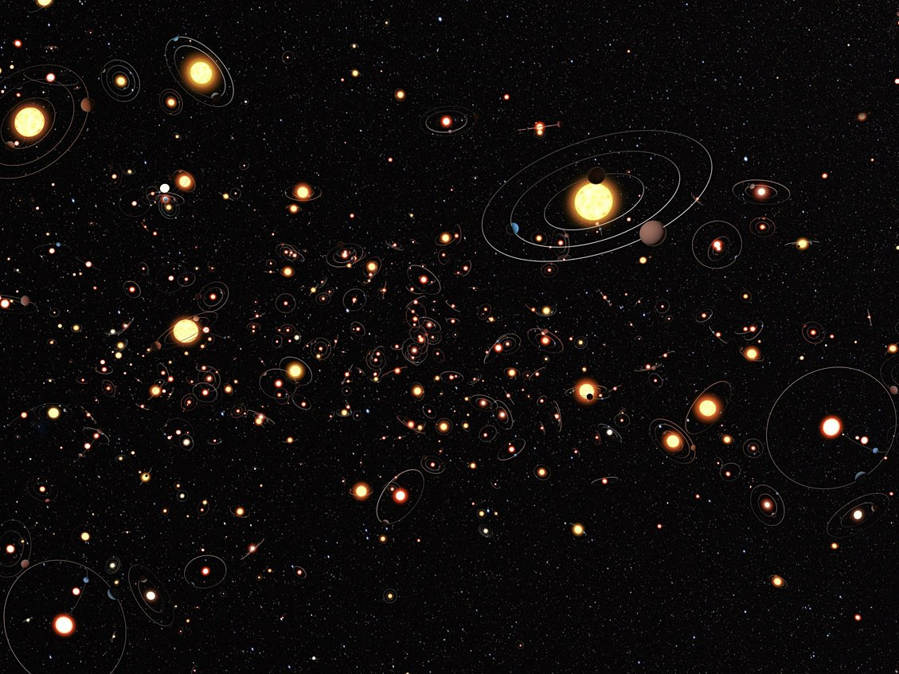 Billions of Planets Milky Way - Pics about space