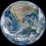 Blue Marble image of the Earth (updated)