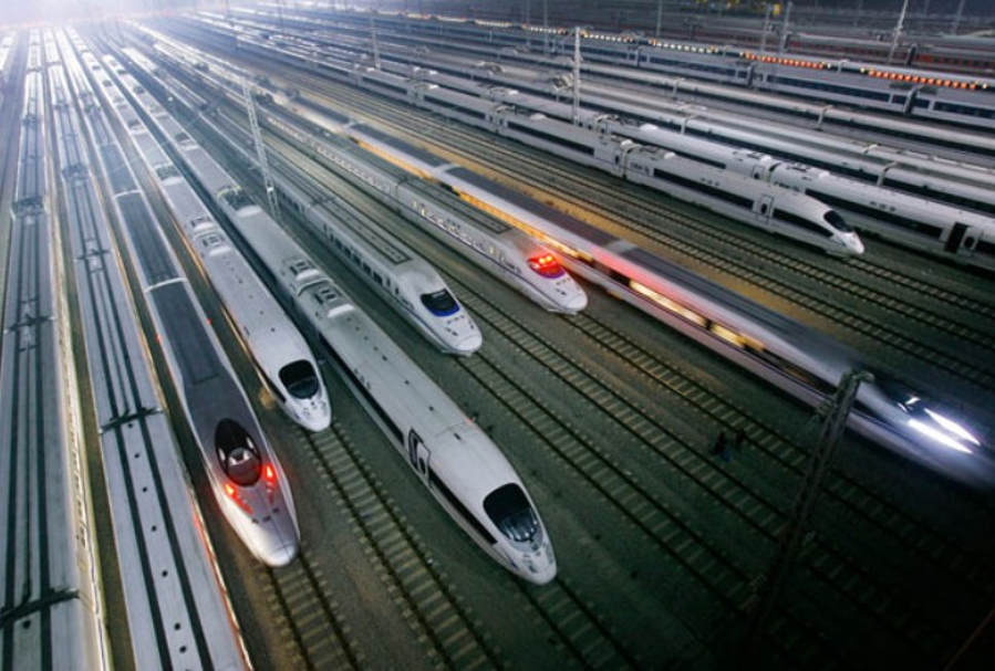 Wordlesstech China S Crh High Speed Trains