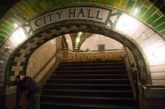 City Hall station in New York City