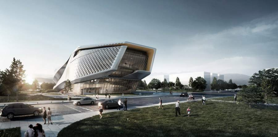 Wordlesstech dalian museum by 10 design - Britains most modern buildings the contemporary design competition ...