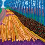 David Hockney at the Royal Academy of Arts in London