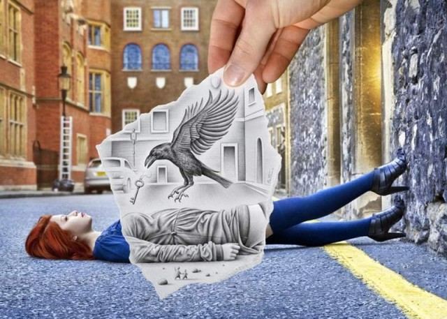 Magnificent drawings by Ben Heine