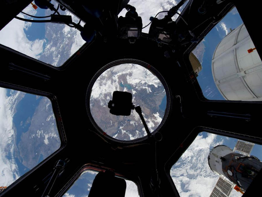The Cupola on the International Space Station