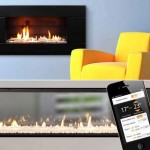 Gas Fireplace controled by iPhone