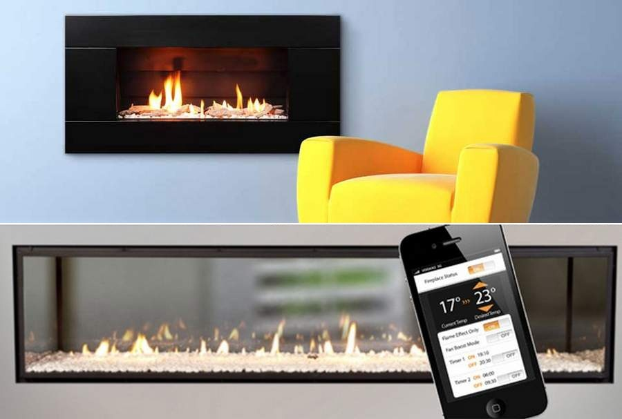 Gas Fireplace by Escea