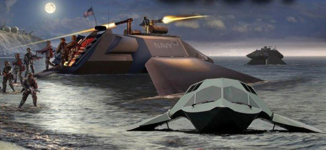 Ghost stealthboat by Juliet Marine Systems