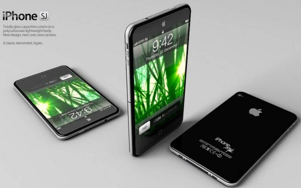 New concept design iPhone by Antonio De Rosa