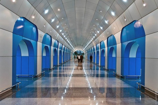 Kazakhstans glorious new Metro