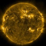 Largest Solar storm recorded in eight years (video)
