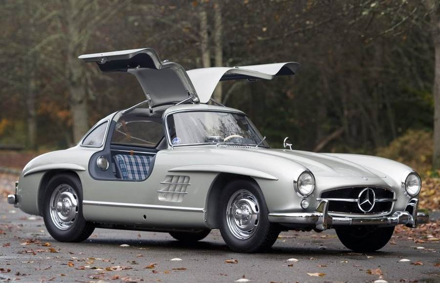 Mercedes-Benz 300SL 1955 Alloy Gullwing (4)