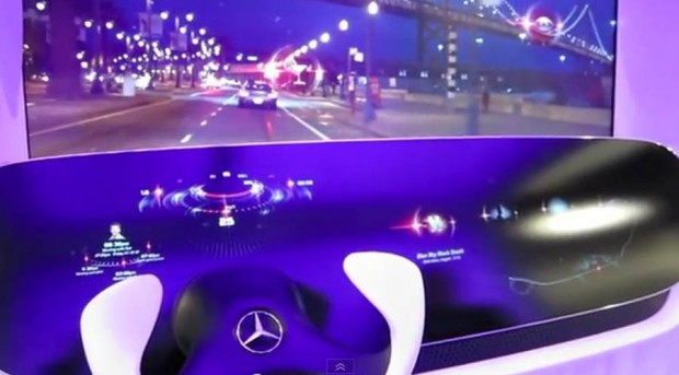 Mercedes Presents DICE Architecture At CES