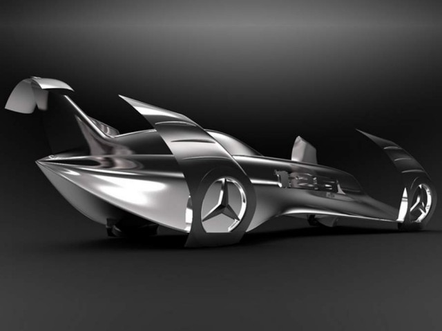 Mercedes History Concept by Peter Vardai