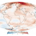 NASA finds 2011 Ninth-Warmest year on record (video)