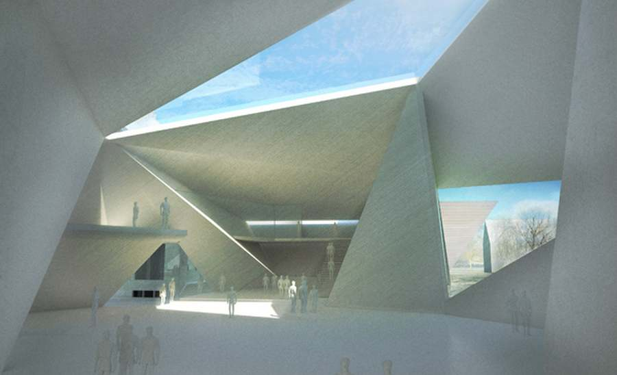 Wordlesstech serlachius museum gosta by mca for Space definition in architecture