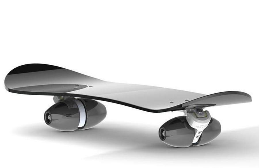Skateboard with Conical wheels by Aris