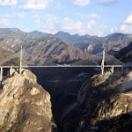 Tallest cable-suspension Baluarte bridge (video)