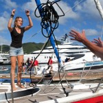 Teen sailor completes solo global sailing trip