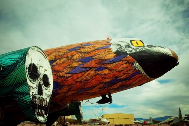 The Boneyard Project by Eric Firestone at the Pima Air + Space Museum (PIMA)