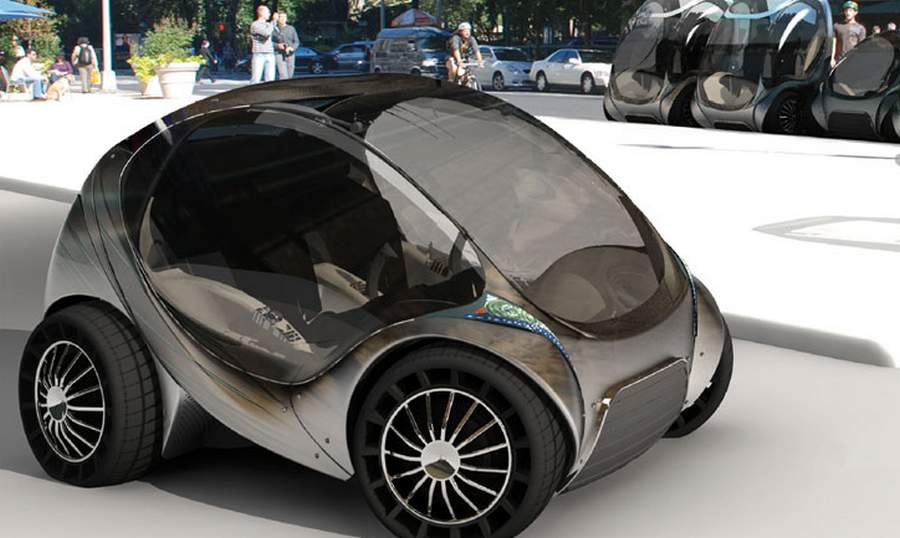 The hiriko car project wordlesstech for Simple electric motor car project