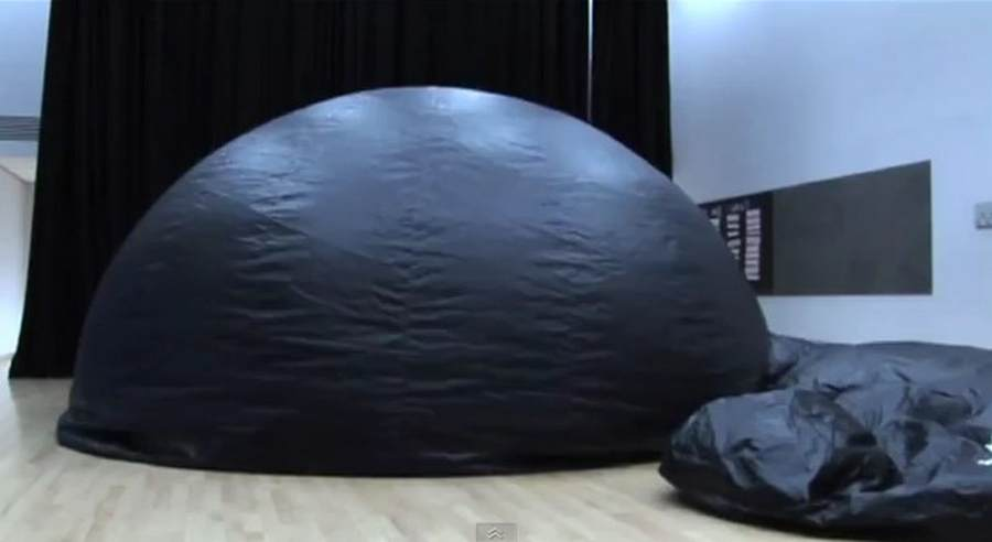 Inflativerse mobile Planetarium by University of Nottingham