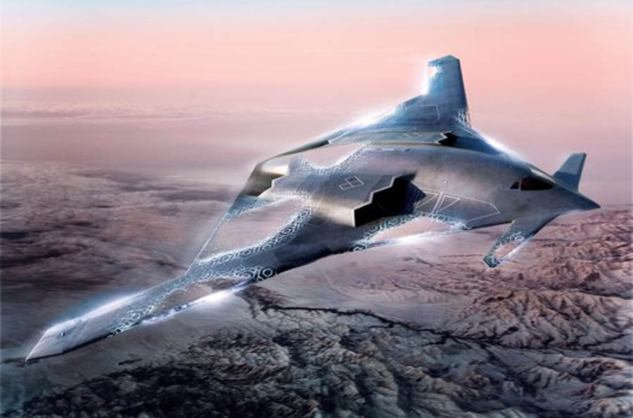 The new B-2 Stealth Bomber