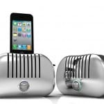 Toast! iPhone speaker dock