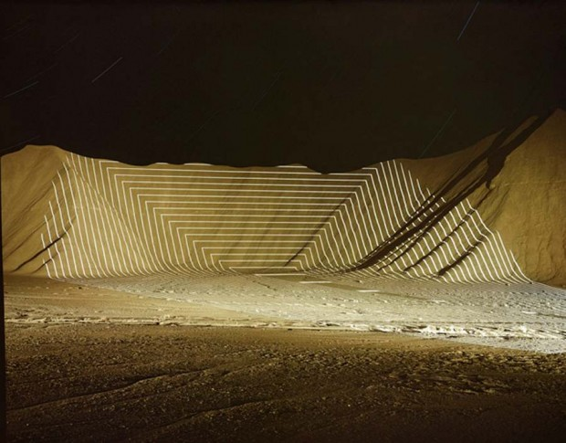Topographic Projections by Jim Sanborn -Horse Valley