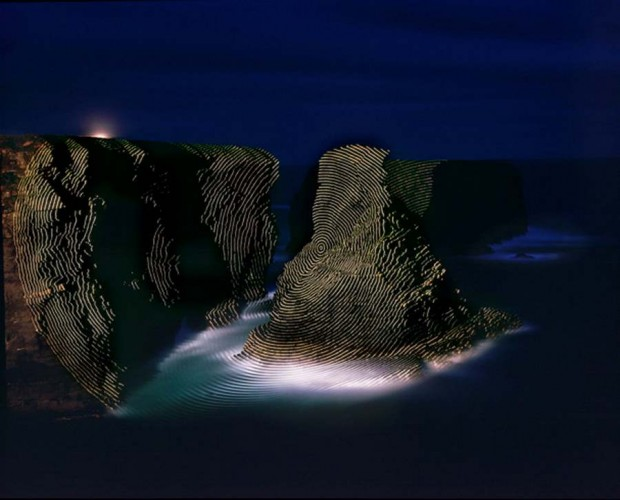 Topographic Projections by Jim Sanborn -Kilkee County Claire