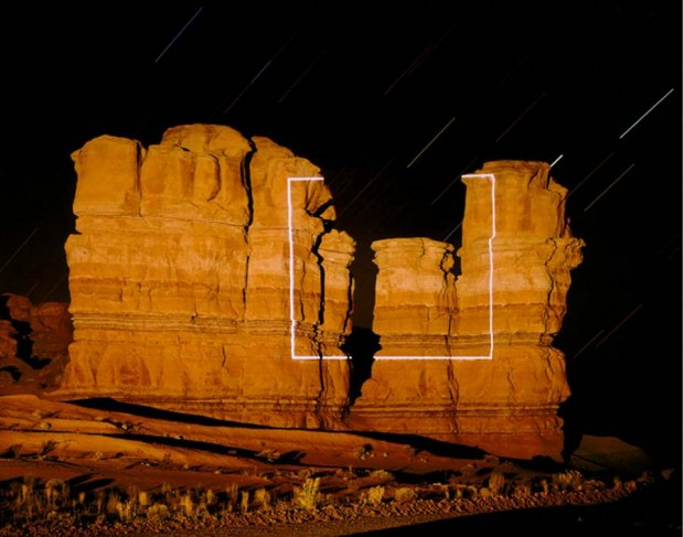 Topographic Projections by Jim Sanborn -Notom Utah