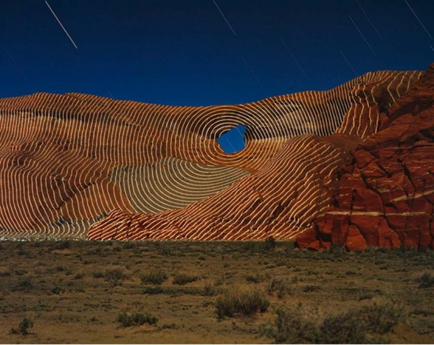 Topographic Projections by Jim Sanborn - Rough Rock