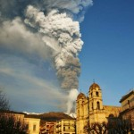 Volcano Etna has erupted again