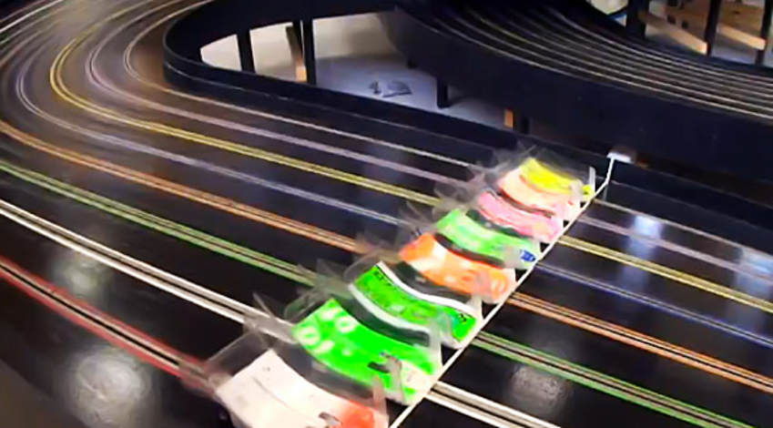 World S Fastest Slot Car Race Wordlesstech