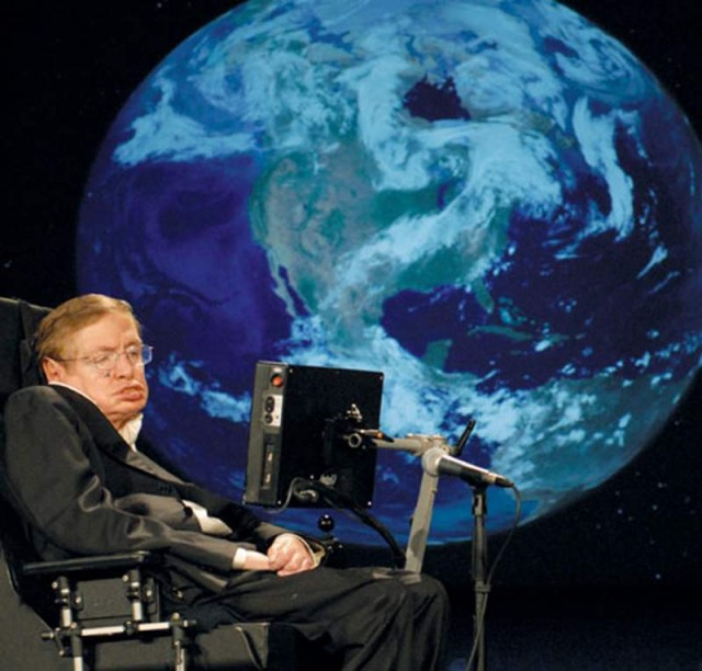 Professor Stephen Hawking celebrates his 70th birthday