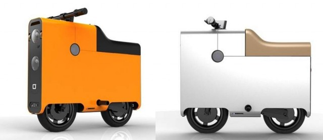 Boxx electric compact bike
