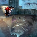 3D street art illusions by Eduardo Rolero