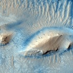 Active Erosion in Martian Crater
