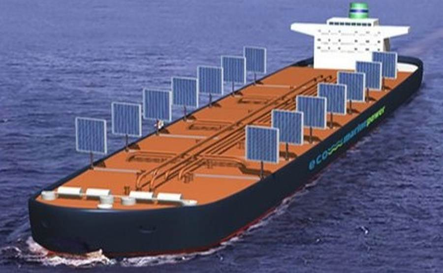 Aquarius Project- eco tankers of the future by Eco Marine Power