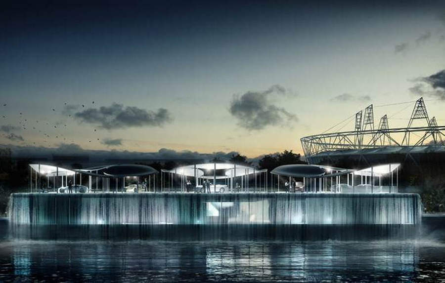 BMW Olympic pavilion by Serie architects