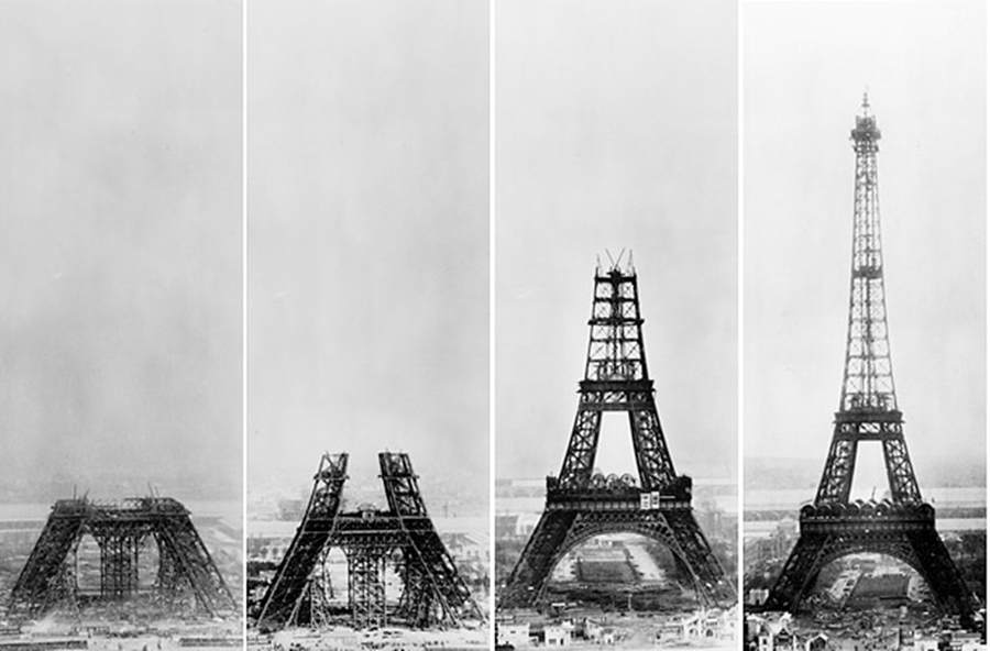 building the eiffel tower wordlesstech