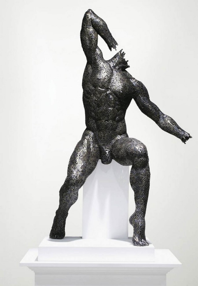 Chain sculptures by Seo Young Deok (6)