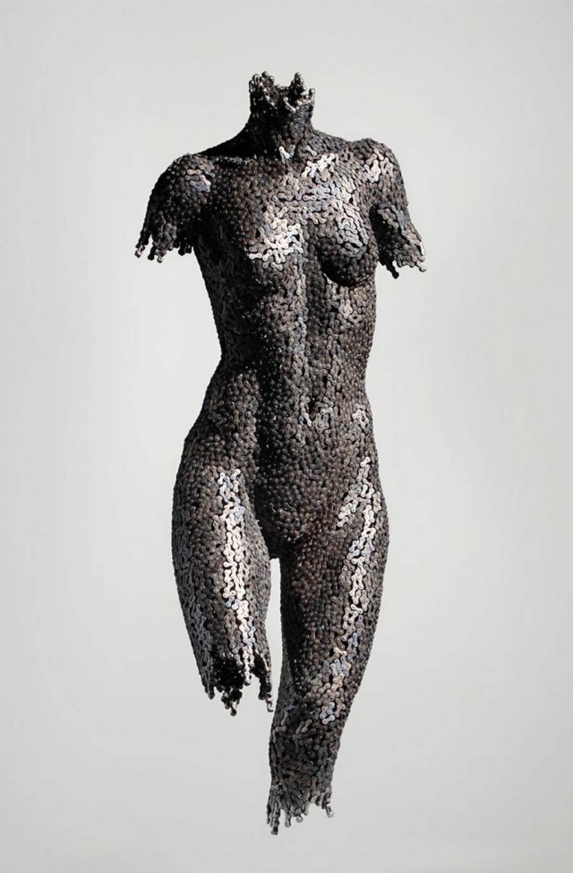 Chain sculptures by Seo Young Deok (8)