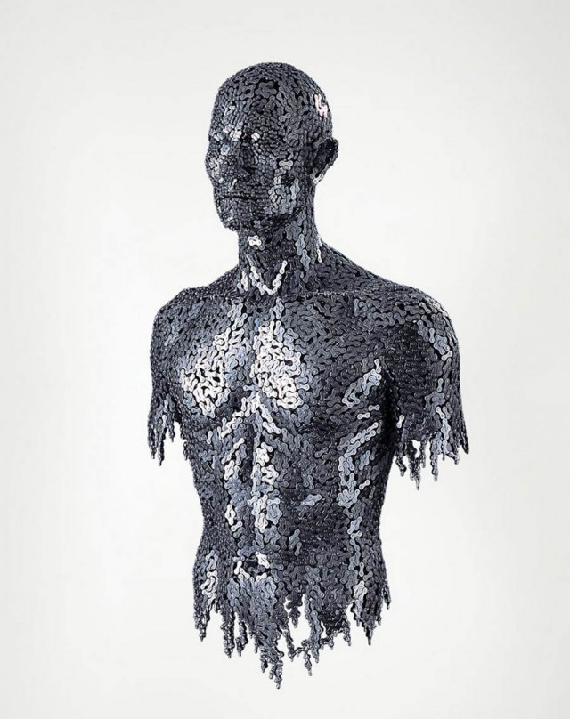Chain sculptures by Seo Young Deok (9)