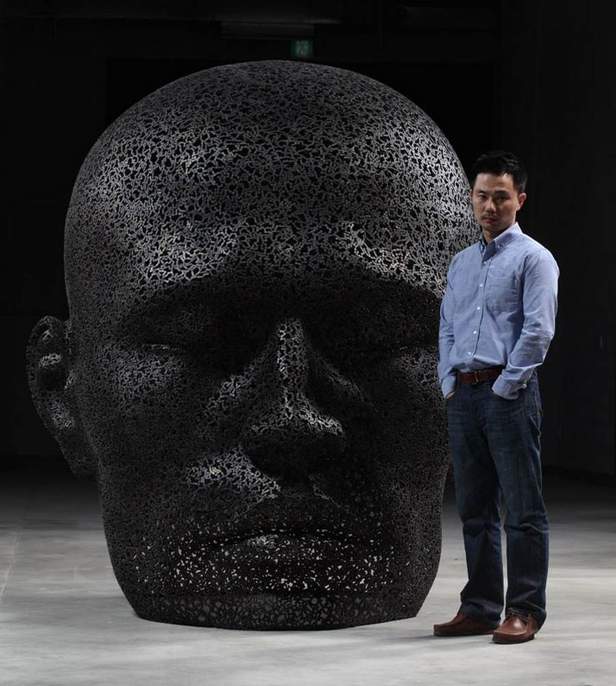 Chain sculptures by Seo Young Deok (1)
