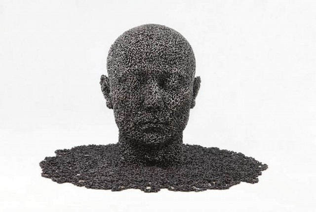 Chain sculptures by Seo Young Deok (10)