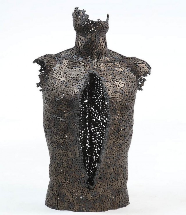 Chain sculptures by Seo Young Deok (11)