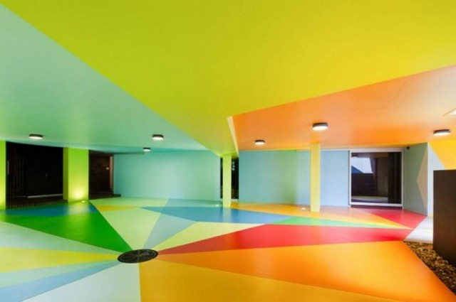 Colorful Car Park by Karl & Craig
