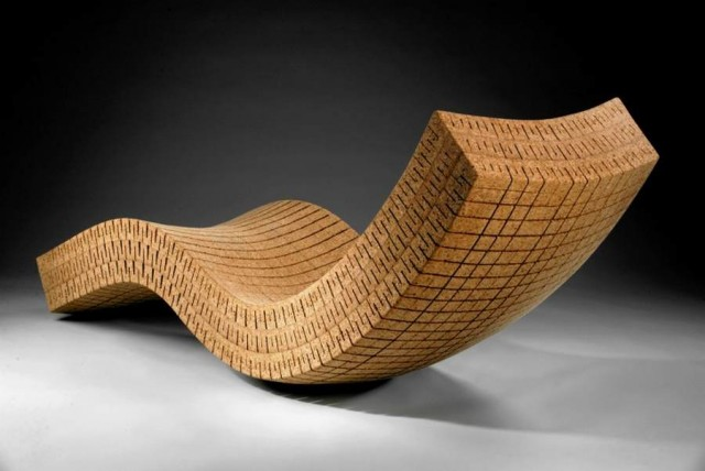 Cortica chaise lounge by DMFD